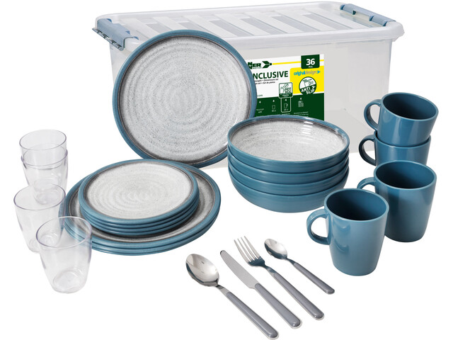 Brunner All Inclusive Dishes Set 36 Pieces, design tuscany